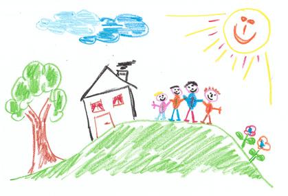 Baum planzen, Haus bauen, Kind zeugen