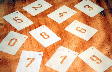 Bedeutung der Zahlen 1 bis 9